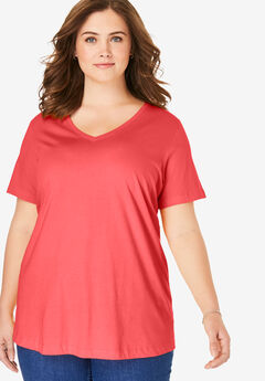 ee5bd2e2 The Perfect Tee Collection: Plus Size Tops | Woman Within