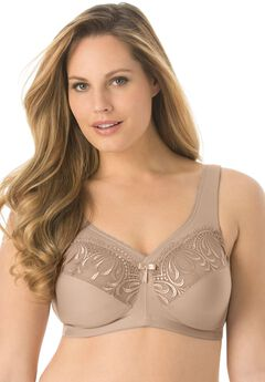 Magic Lift® Embroidered Bra by Glamorise®,
