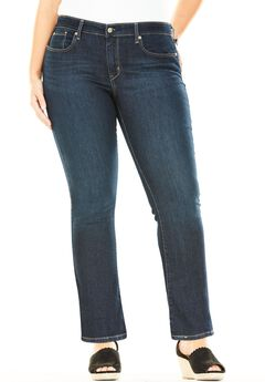 Signature by Levi Strauss & Co.™ Simply Stretch Plus Modern Bootcut Jeans, STORMY SKY, hi-res