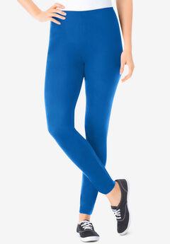 Stretch Cotton Legging, BRIGHT COBALT