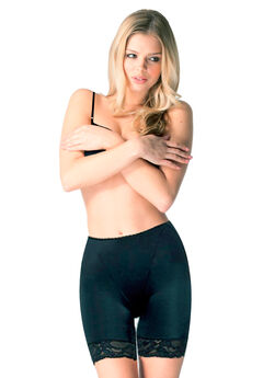The Miracle Thigh Slimmer by Body Hush™, BLACK, hi-res
