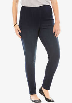 Fineline Denim Jegging, INDIGO SANDED