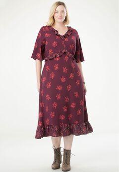 Ruffled Maxi Dress by Chelsea Studio®,
