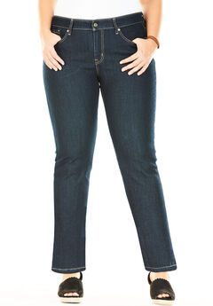 Signature by Levi Strauss & Co.™ Totally Shaping Pull-On Boot Cut Jeans, SIGNATURE AFTER HOURS