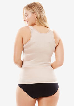 9b9cf952a46 Wear-Your-Own-Bra Tank by Secret Solutions® Curvewear