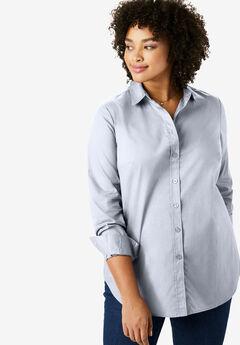 Perfect Button Down Shirt, CHAMBRAY, hi-res