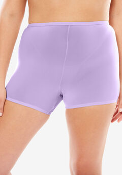 Stretch Microfiber Boyshort By Comfort Choice®, BRIGHT LILAC