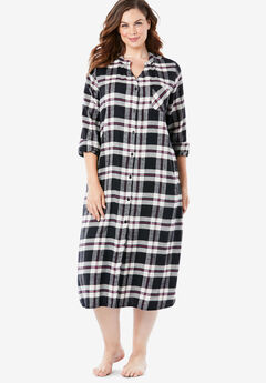 Flannel Sleepshirt,
