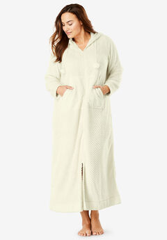 3783463b17 Plus Size Bathrobes   Slippers for Women