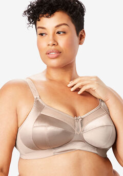 Goddess® Keira Satin Wireless Bra,