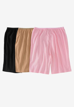 3-Pack Cotton Boyshort by Comfort Choice®, BASIC PACK