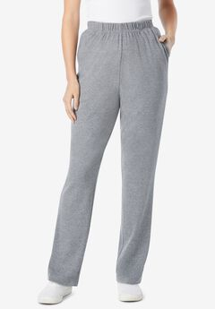 7-Day Knit Straight Leg Pant, MEDIUM HEATHER GREY