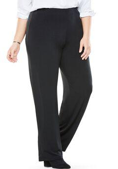 Stretch travel pants, BLACK, hi-res