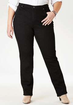 Relaxed Stretch Jean by Lee®, BLACK