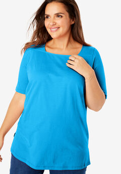 Perfect Square Neck Tee,