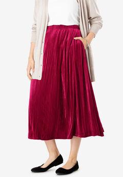 Velour Skirt,