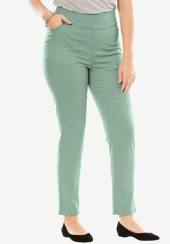 Smooth Waist Skinny Jean, DUSTY JADE, hi-res