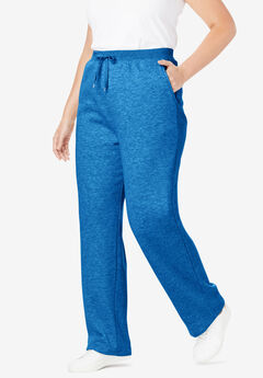 Better Fleece Sweatpant, HEATHER DEEP COBALT