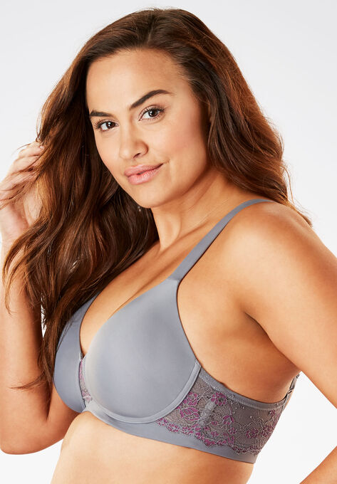 3202ab926e8 Padded Lace Balconette T-Shirt Bra By Leading Lady®