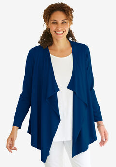 Simply Special Knit Open Front Cardigan,