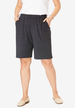 7-Day Knit Short, HEATHER CHARCOAL