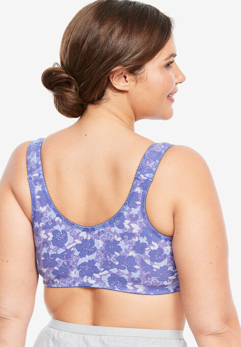 63d8987d4eee Cotton Knit Leisure Bra by Leading Lady®