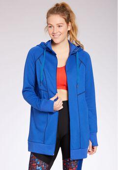 Hooded fleece jacket by fullbeauty SPORT®,