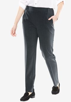 Tummy Tamer Trouser Jean, HEATHER CHARCOAL, hi-res