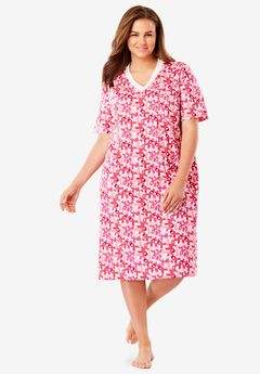 Print Sleepshirt by Dreams & Co®, , hi-res