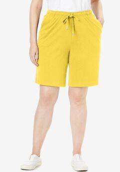 Sport Knit Short, PRIMROSE YELLOW