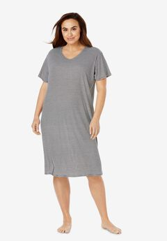 Ribbed Sleepshirt,