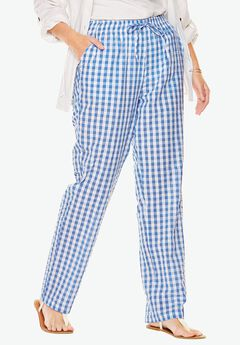 Seersucker pants,
