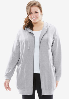 ea22c11a2f0 Plus Size Sweatshirts   Jackets for Women
