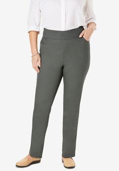 Smooth Waist Skinny Jean, OLIVE GREY
