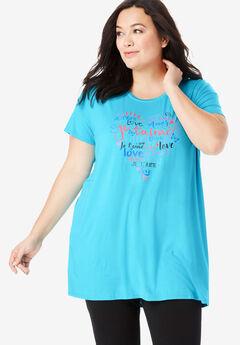 Soft PJ Tunic Tee by Dreams & Co.®,