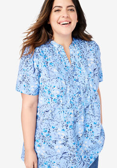 56d23fa98f180 Plus Size Shirts   Blouses for Women