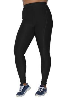 Leggings by FullBeauty SPORT®, BLACK, hi-res