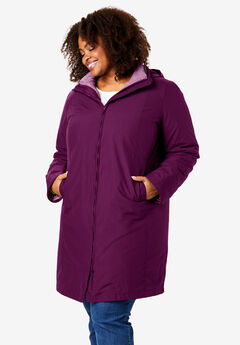 3-in-1 Hooded Taslon® Jacket,