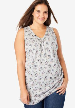 d91f098d27c0e7 Plus Size Casual Tank Tops for Women