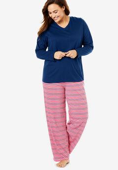 Long-Sleeve Sleep Tee by Dreams & Co.®,