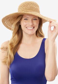 Straw Hat, NATURAL, hi-res