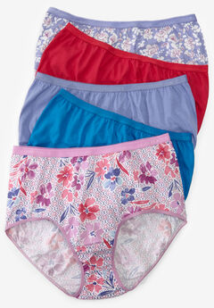 32f4f0aa77 10-Pack Pure Cotton Full-Cut Brief by Comfort Choice®