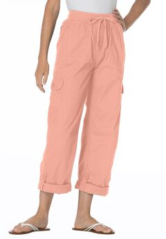 Woman Within® Pants with Convertible Length,