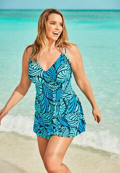 Two-Piece Swim Dress ,