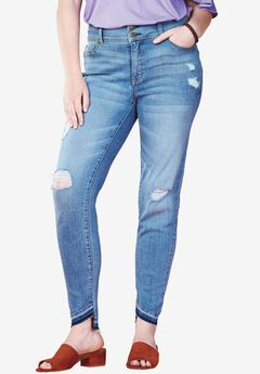 Released Hem High Rise Skinny Jean by Chelsea Studio®, MEMPHIS WASH, hi-res