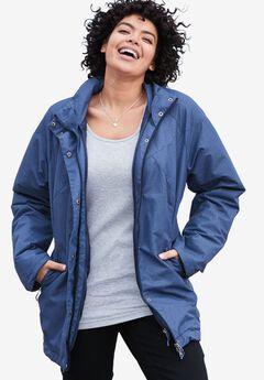 The All-Weather 3-in-1 Jacket, NAVY MELANGE, hi-res