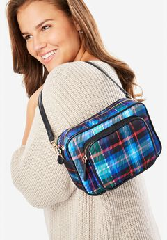 Plaid Crossbody Bag,