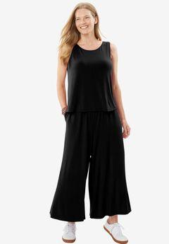 Popover Jumpsuit, BLACK, hi-res