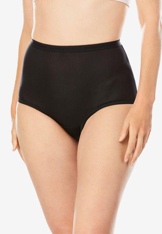 Details about  /Comfortchoice Women/'s 5Pack /& 8Pack Brief Underwear Panty Plus Size 8 Nylon
