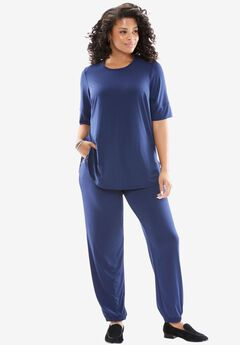 Two-piece jog pants set,